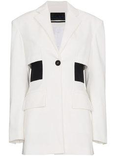 пиджак с вырезными деталями Proenza Schouler