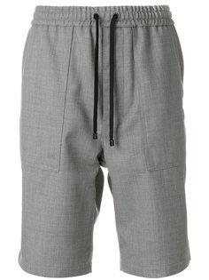 шорты с эластичным поясом Ami Alexandre Mattiussi