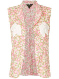 жилет без рукавов с цветочным принтом Comme Des Garçons