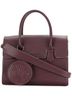 сумка-тоут с подвеской-кошельком Versace Jeans