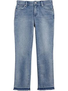джинсы с бахромой на манжете Burberry