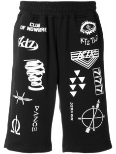 спортивные шорты с принтами KTZ