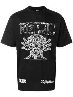 футболка с принтом Arm Vision KTZ
