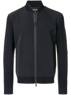 куртка со вставкой  Giorgio Armani