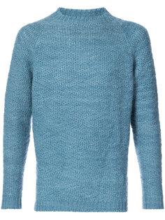 текстурированный свитер с круглым вырезом The Elder Statesman