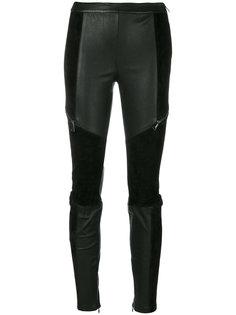 брюки скинни с панельным дизайном Karl Lagerfeld