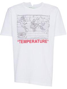 футболка с принтом карты Off-White