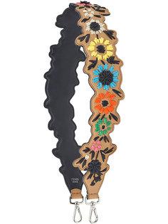 лямка для сумки Strap You с цветочной аппликацией Fendi