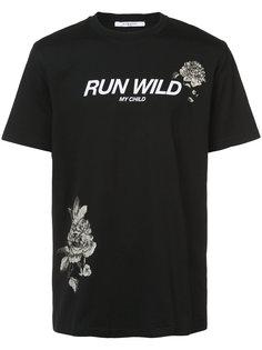 футболка Run Wild Givenchy