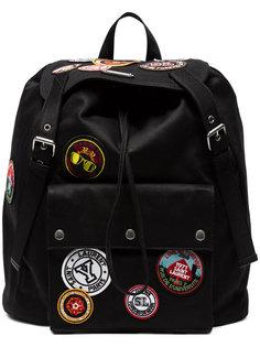 рюкзак Noe с разноцветными заплатками Saint Laurent