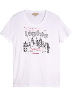 футболка с принтом London Burberry
