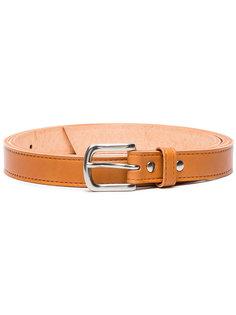 Brown leather belt  Comme Des Garçons Homme Plus