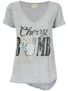 Cherry bomb print T-shirt Andrea Bogosian