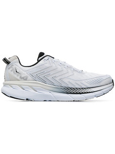 White Clifton 5 Sneakers Hoka One One