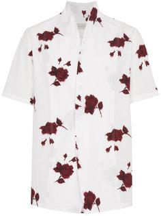 рубашка с розами Bed J.W. Ford