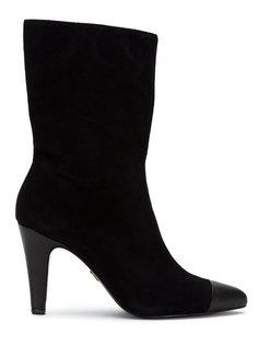 cap toe boots Andrea Bogosian