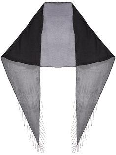 шарф с цепочной отделкой Saint Laurent