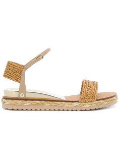 сандалии с плетением Casadei