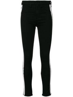 джинсы скинни с полосками по бокам Rag & Bone /Jean