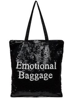 сумка-тоут Emotional Baggage с пайетками Ashish