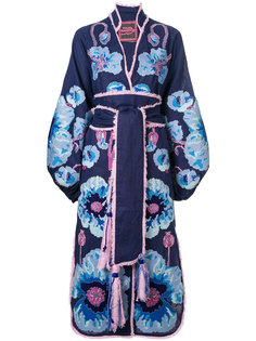 платье-кимоно с принтом Poppies Yuliya Magdych