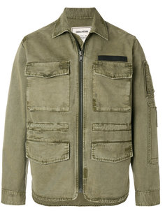 zipped fitted jacket Zadig & Voltaire