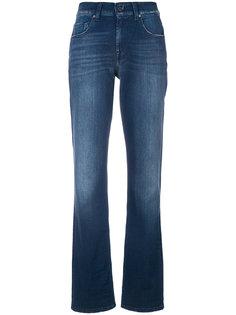 эластичные слегка расклешенные джинсы 7 For All Mankind