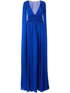 платье-кейп Marchesa Notte