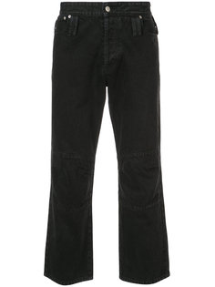 джинсы с вытачками на коленях Chin Mens