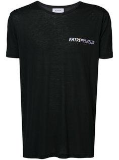 футболка с принтом Entrepreneur Chin Mens