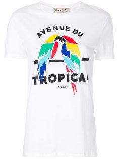 футболка Avenue du Tropical  Être Cécile