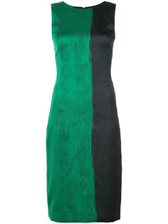 платье с принтом  Oscar de la Renta