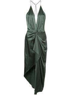 платье миди со сборками Manning Cartell