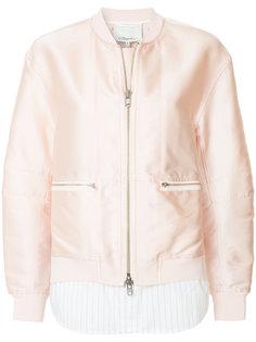двухслойная куртка-бомбер  3.1 Phillip Lim