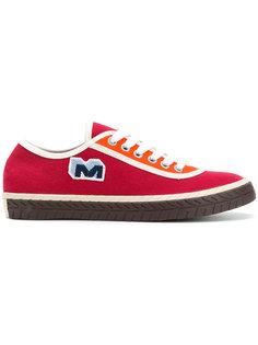 кроссовки на шнуровке Marni