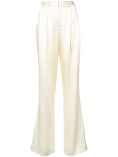 брюки со складками Adam Lippes