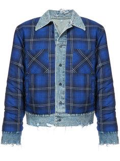 куртка с двухслойным дизайном Trucker Amiri