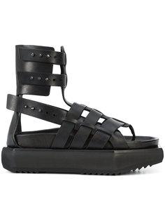 сандалии на платформе Granola Rick Owens