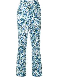 брюки Soho с цветочным узором Bianca Spender