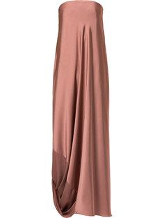 каскадное вечернее платье Bianca Spender