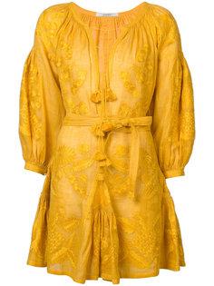платье с V-образным вырезом и кисточками Vita Kin