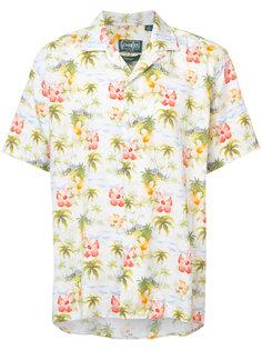 рубашка с рисунком в гавайском стиле Gitman Vintage