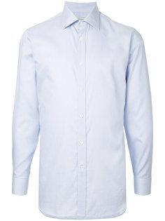 рубашка с длинными рукавами в тонкую полоску Gieves & Hawkes