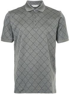 рубашка-поло с вышивкой Gieves & Hawkes