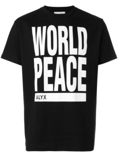 футболка world peace Alyx