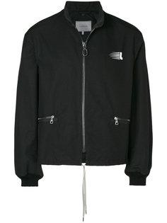 куртка на молнии с капюшоном Lanvin