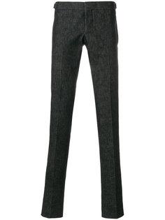 укороченные брюки строгого кроя Thom Browne