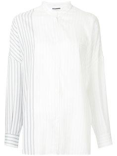 рубашка в полоску Jil Sander