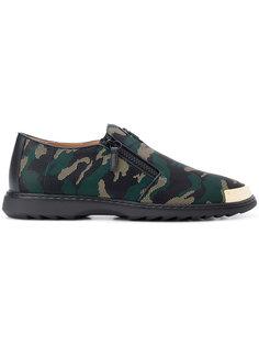 туфли Cooper с камуфляжным принтом  Giuseppe Zanotti Design