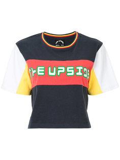 футболка с панельным дизайном The Upside